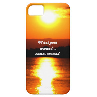 What Goes Around iPhone 5 Cover