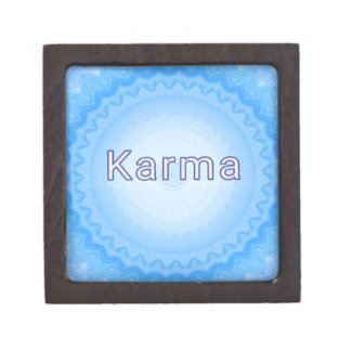 "What Goes Around...Soft Pastel Positive ""Karma"" Jewelry Box"