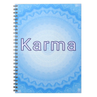 """What Goes Around...Soft Pastel Positive """"Karma"""" Notebook"""