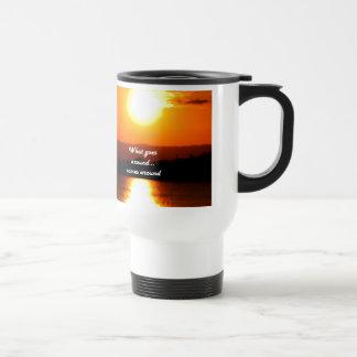 What Goes Around Travel Mug