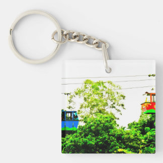 what goes up and down, ace the knife square acrylic keychains
