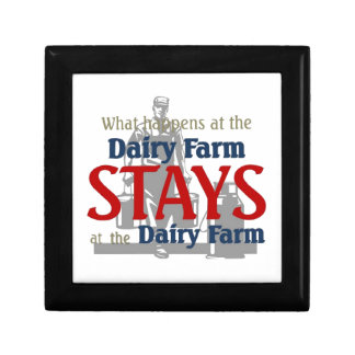 What happen at the dairy farm gift box