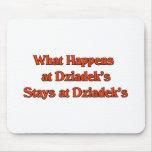 What happened at Dziadek's Stays at Dziadeks Mouse Pad