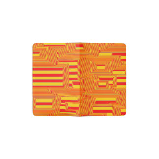 what happened to the stripes (C) Pocket Moleskine Notebook Cover With Notebook