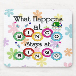 What Happens at Bingo Mouse Pad