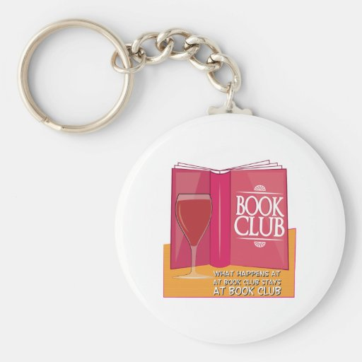 What Happens At Book Club Key Chains