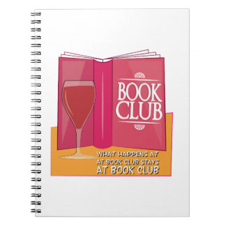 What Happens At Book Club Notebooks