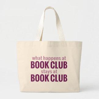 What Happens at Book Club Stays at Book Club Tote Bag