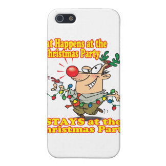 what happens at christmas party stays cover for iPhone 5
