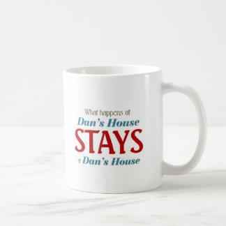 What happens at Dan's house Coffee Mug