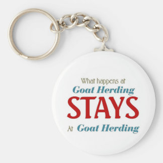 What happens at goat herding keychains