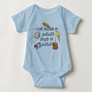 What Happens at Godmom's STAYS at Godmom's Baby Bodysuit