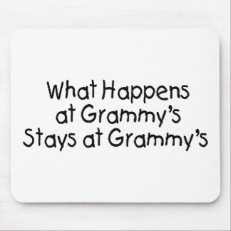 What Happens At Grammys Black 2 Mouse Pad