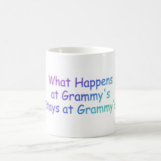 What Happens At Grammys Multi Colored Coffee Mug