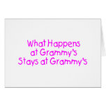 What Happens At Grammys Pink 2 Greeting Card