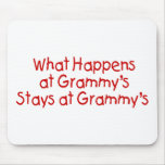 What Happens At Grammys Red Mousepad