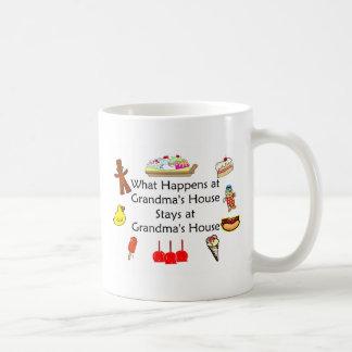 What Happens at Grandma's Mugs