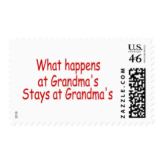 What Happens At Grandma s Stays At Grandma s Postage