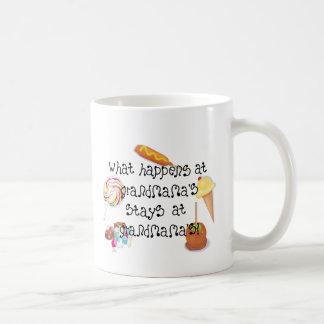 What Happens at Grandmama's STAYS at Grandmama's Coffee Mug