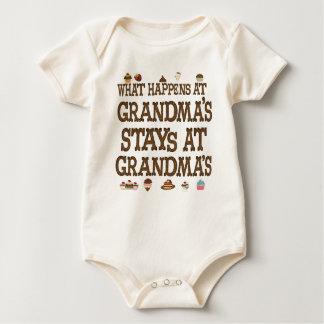 What happens at Grandmas Baby Bodysuit