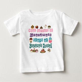 What happens at Grandmas Baby T-Shirt