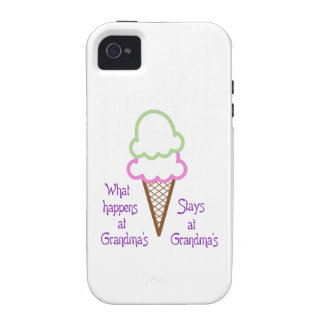 What Happens At Grandma's? Case-Mate iPhone 4 Case