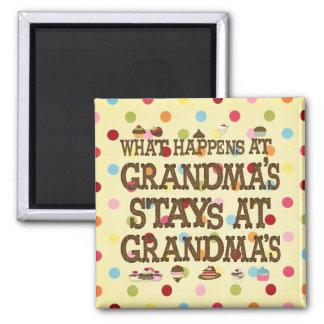 What happens at Grandmas Magnet