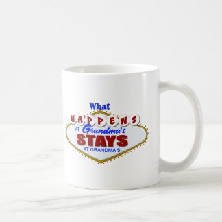 What happens at Grandma's stays at Grandma's. Coffee Mug