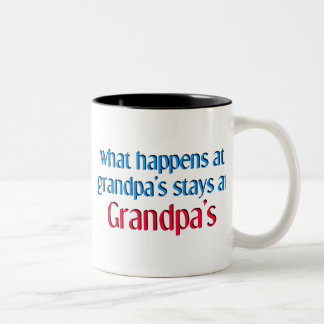 What happens at Grandpa's Coffee Mug