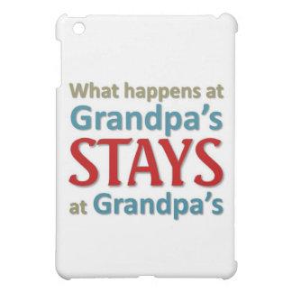 What happens at Grandpa's iPad Mini Covers