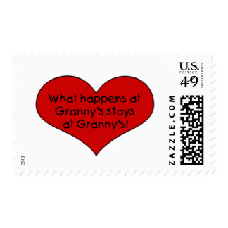 What happens at Granny's stays Postage