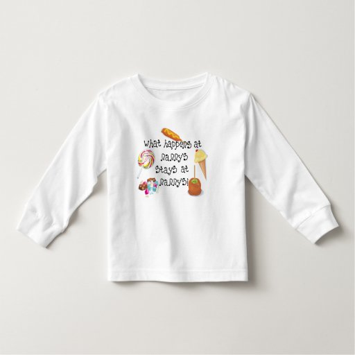 What Happens at Nanny's STAYS at Nanny's Toddler T-shirt
