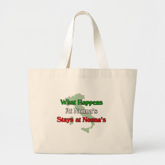 What happens at Nonna's Stays at Nonna's Bags
