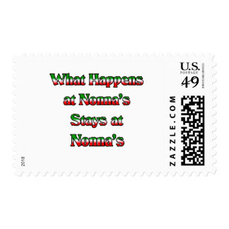 What Happens at Nonna's, Stays at Nonna's Postage Stamp