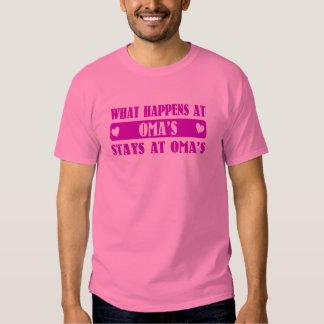 What Happens at Oma's T Shirt
