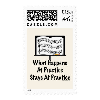 What Happens At Practice Postage Stamp