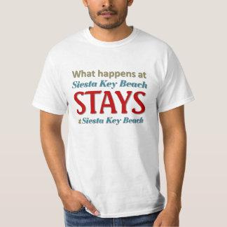 What happens at Siesta key Beach T-Shirt