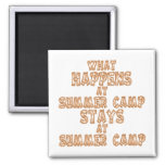 What Happens at Summer Camp Refrigerator Magnet