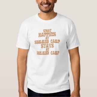 What Happens at Summer Camp Tshirts