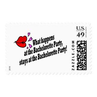 What Happens At The Bachelorette Party... Postage