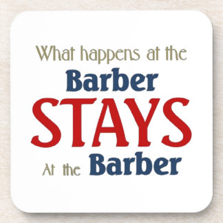 What happens at the barber stays at the barber coaster