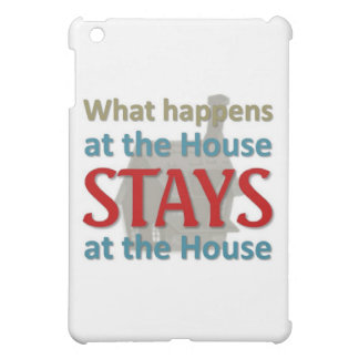 What happens at the house iPad mini covers