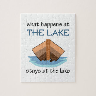 WHAT HAPPENS AT THE LAKE JIGSAW PUZZLES