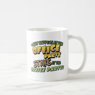 What Happens at the Office Party Mug