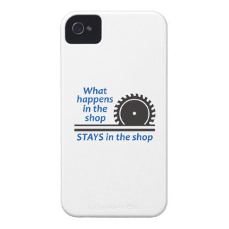 WHAT HAPPENS AT THE SHOP Case-Mate iPhone 4 CASE