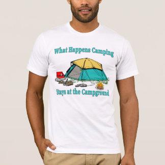What Happens Camping Men's T-Shirt