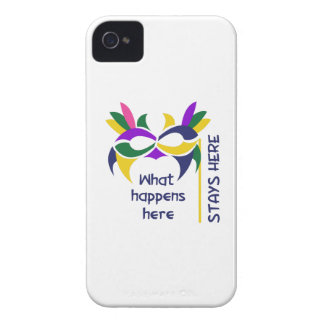 WHAT HAPPENS HERE iPhone 4 CASES