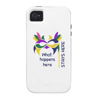 WHAT HAPPENS HERE CASE FOR THE iPhone 4