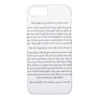 What Happens If You Fall in Love With a Writer? iPhone 7 Case