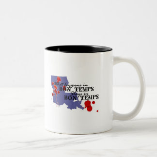 What Happens in Bon Temps Two-Tone Coffee Mug